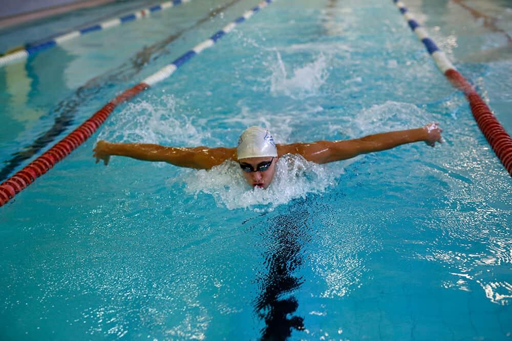 laste ujumistreeningud